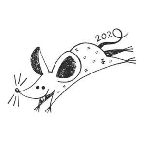 2020年のねずみ