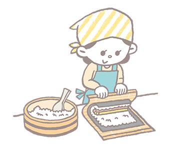 2018/1月 巻き寿司