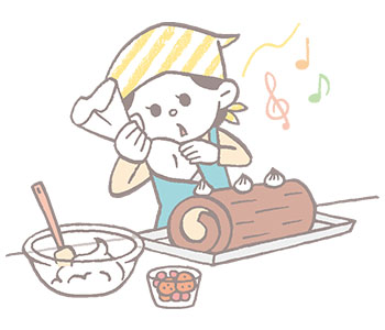 12月 ケーキ